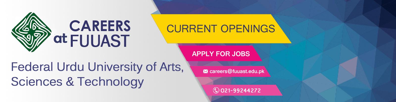 FUUAST | Careers Portal